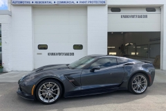 2019 Corvette Paint Protection Film on the whole car and Premium 38% Window Tint