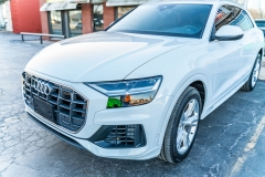 2019 Audi Q8 Full Front Paint Protection Film, DC Trunk Opening and Fusion Ceramic Coating