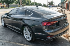 Audi A8 full hood full fenders mirrors, bumper and ceramic coating