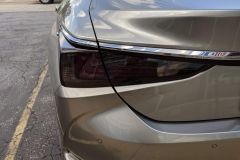 Smoke Lights on a Lexus