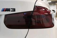 Medium Smoke Lights on BMW M3