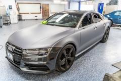 2017 Audi RS7 Matte Silver Wrap