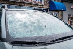 2020 Toyota Rav4 TRD Full Front with HL ClearPlex and Elite 75% window tint on front windows and Elite 45% window tint on back windows