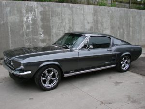 Classic Ford Mustang with Premium 38% Tint