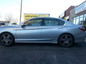 Honda Accord gets 50% Elite Tint from Midwest Tinting