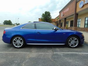Audi A5 gets Ultimate 38% and 50% Tint