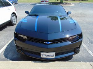 Camaro Vinyl Hood and Bowtie Accent