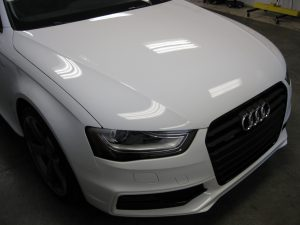 XPEL Clear Protective Film to Headlights