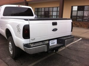 F150 Charcoal Taillight Film