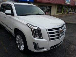Cadillac Escalade gets XPEL Paint Protection Film