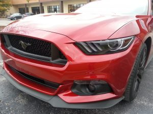 Mustang gets Gunsmoke Headlight Tint
