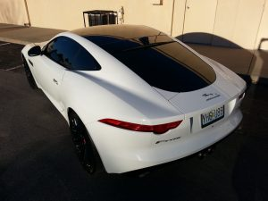 Jaguar F-Type gets Paint Protection Film and Elite Window Film