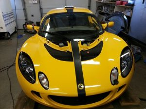 Lotus XPEL Paint Protective Film including Clear Head Light Film