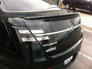 Ford Taurus gets Charcoal Taillight Film