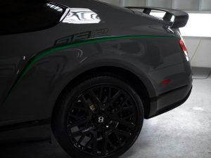 2015 Bentley GT3R - Green Stripe Package