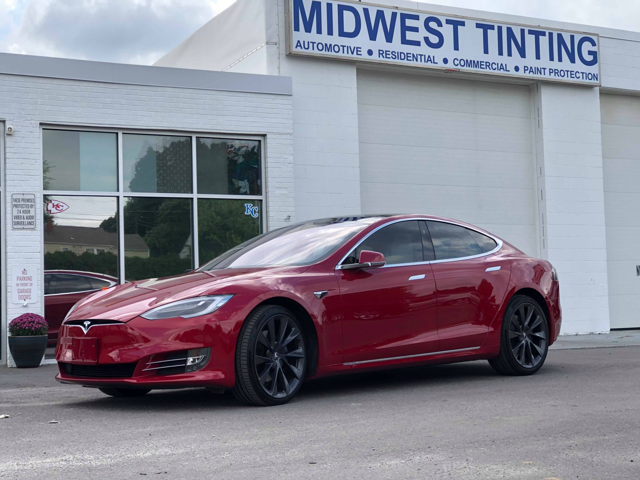 Midwest Tinting - Your Source for Tesla Model Upgrades - Window Tinting, Paint Protection Film and Vehicle Graphic work in the Kansas City Area.
