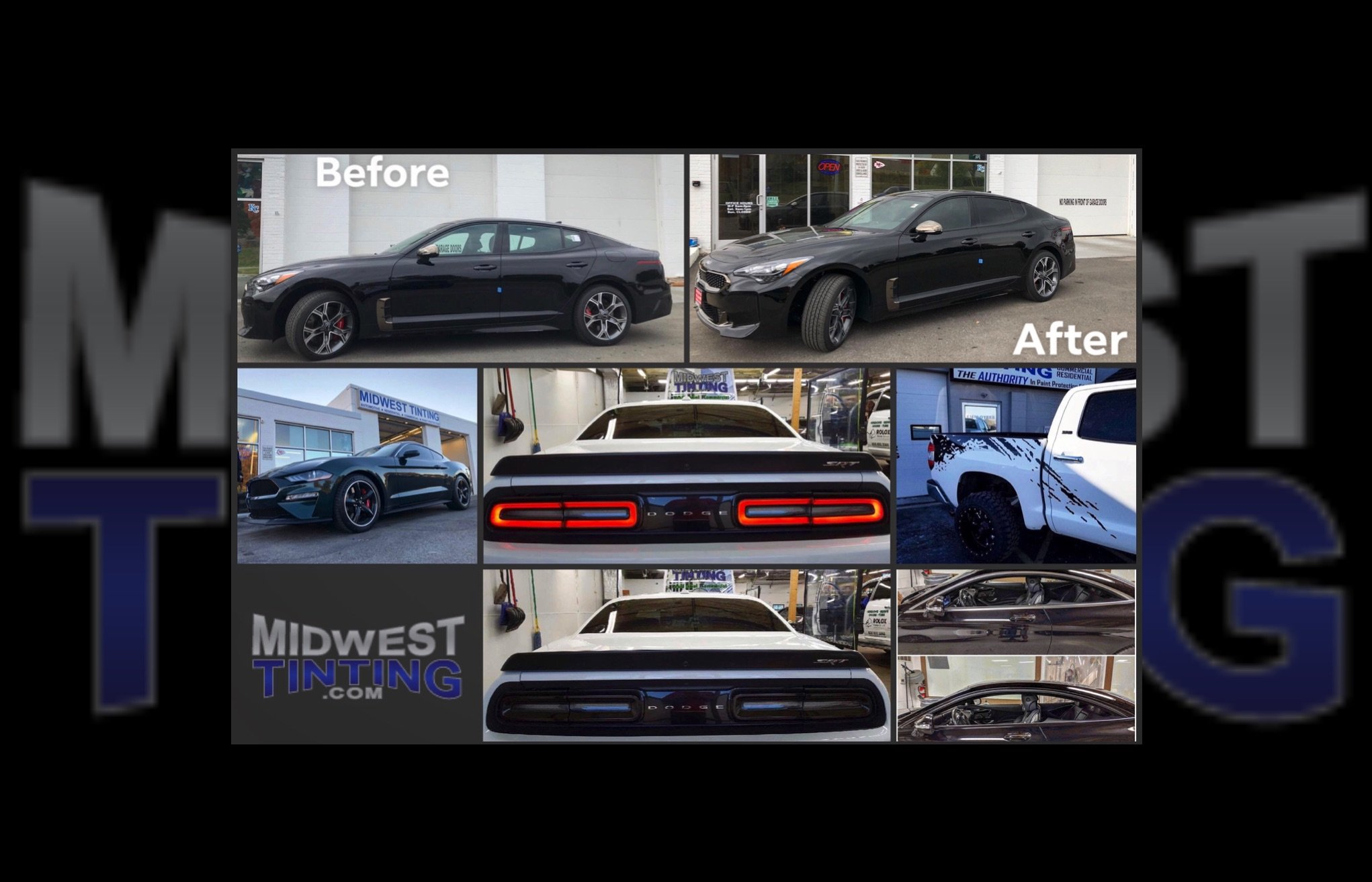 New Year, New You With Automotive Customizing from Midwest Tinting - Window Tinting and Paint Protection in Kansas City
