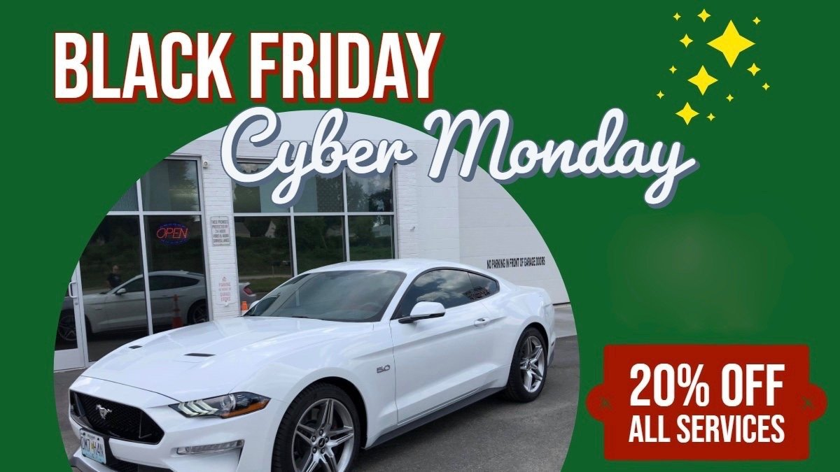 Don't Miss Midwest Tinting's HUGE Black Friday - Cyber Monday Sale! - Kansas City Window Tinting Services
