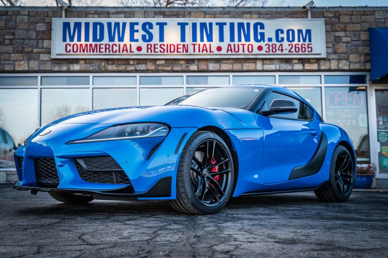 Toyota Supra Gets XPEL Paint Protection Film & Ceramic Paint Coating in Kansas City - Paint Protection Film and Ceramic Paint Coating in Kansas City
