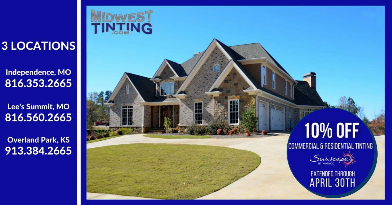 Midwest Tinting April Special in KS & MO