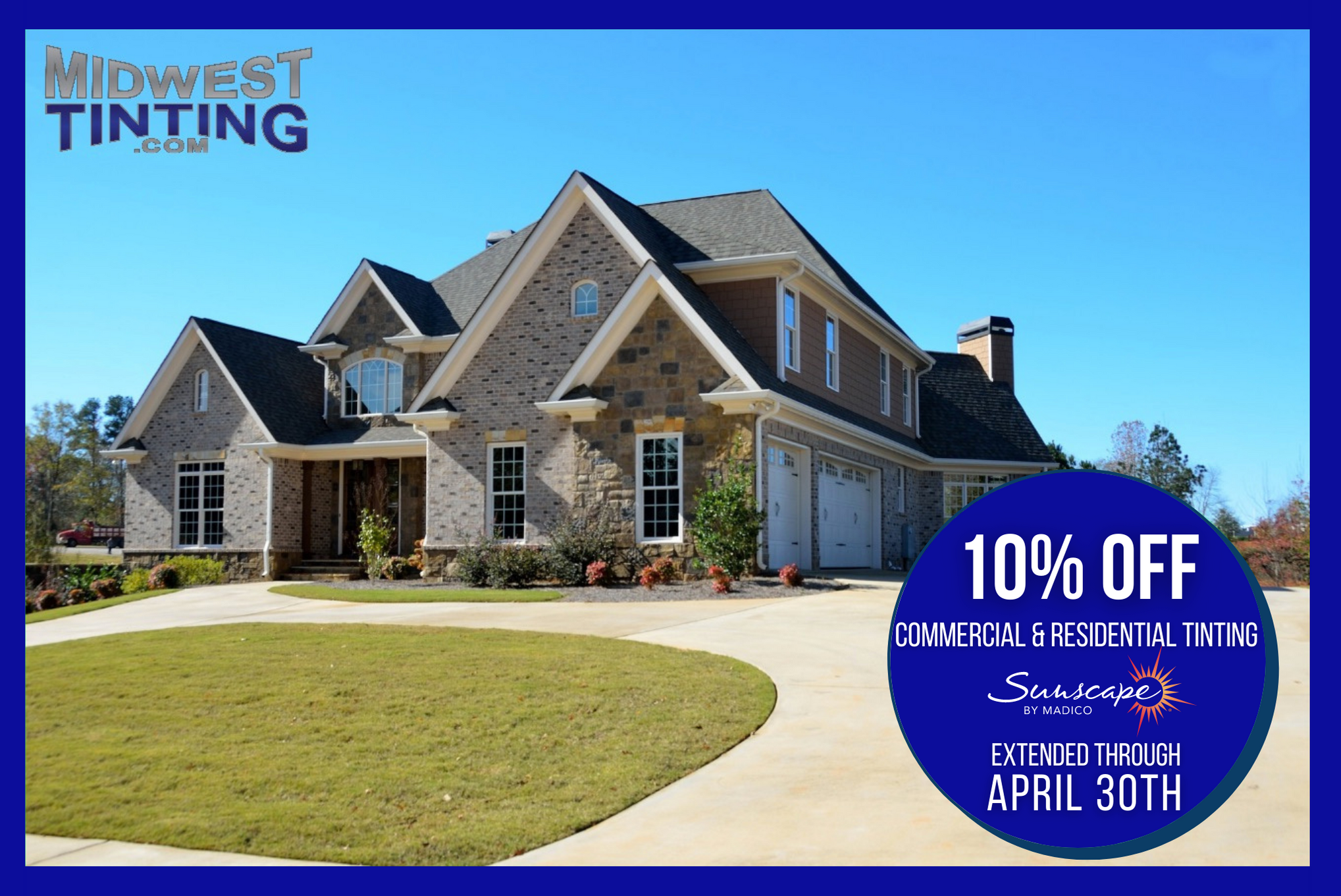 Spring Into The Season With 10% OFF Commercial & Residential Window Film - Home and Commercial Window Tint in Kansas City