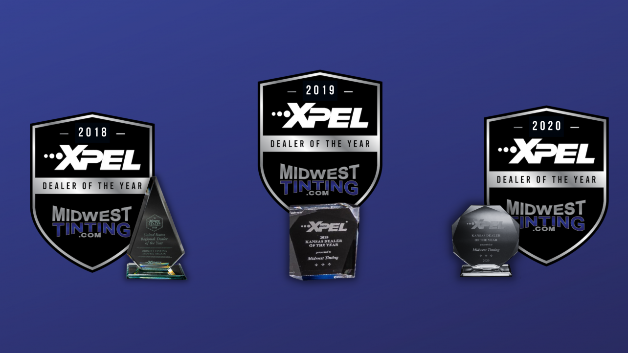 Proud to Announce our Award for XPEL's Dealer of the Year for Kansas